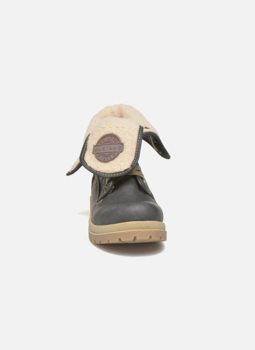 Bottines et boots Mustang shoes Alina Bleu vue portées chaussures