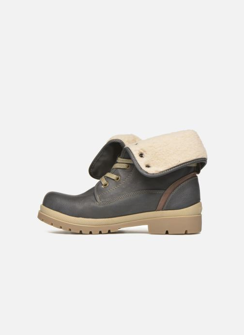 Bottines et boots Mustang shoes Alina Bleu vue face