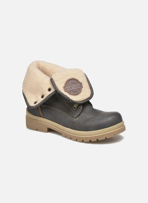 Bottines et boots Mustang shoes Alina Bleu vue détail/paire
