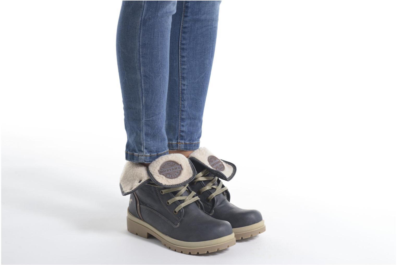 Boots en enkellaarsjes Mustang shoes Alina Blauw onder