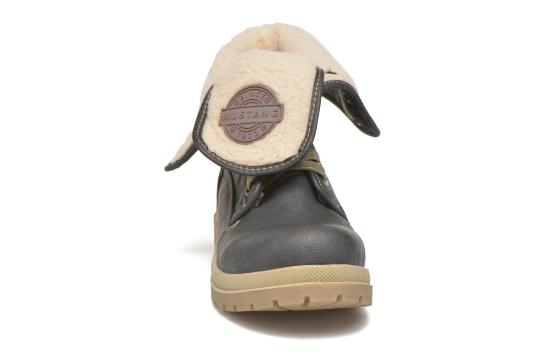 Boots en enkellaarsjes Mustang shoes Alina Blauw model