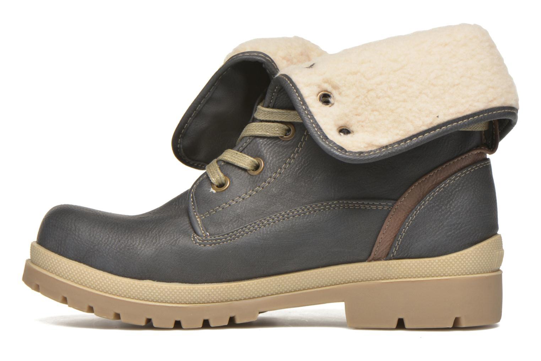 Boots en enkellaarsjes Mustang shoes Alina Blauw voorkant