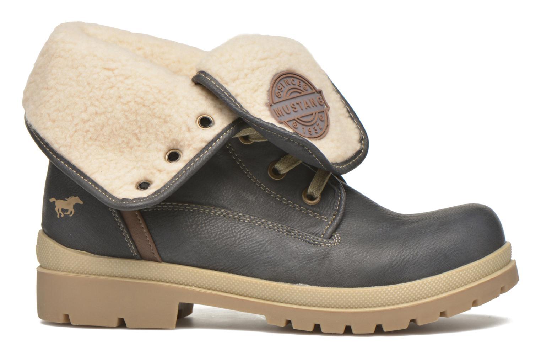 Boots en enkellaarsjes Mustang shoes Alina Blauw achterkant