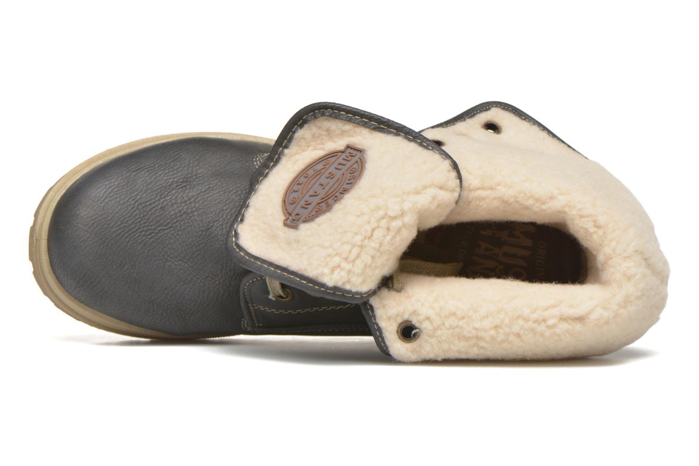 Boots en enkellaarsjes Mustang shoes Alina Blauw links