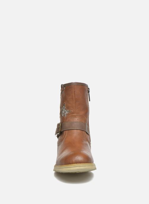 Boots & wellies Mustang shoes Gisa Kids Brown model view
