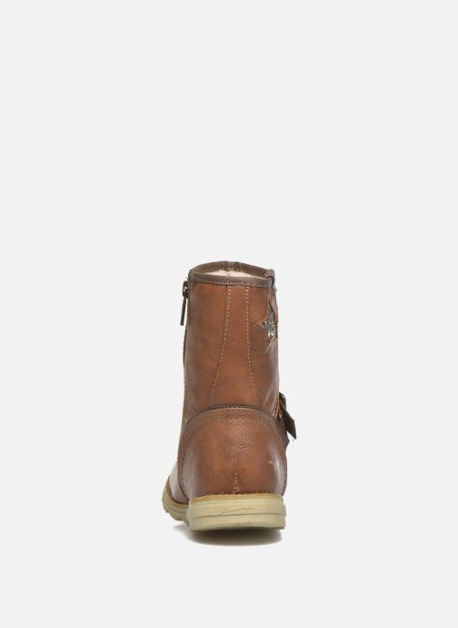 Boots & wellies Mustang shoes Gisa Kids Brown view from the right
