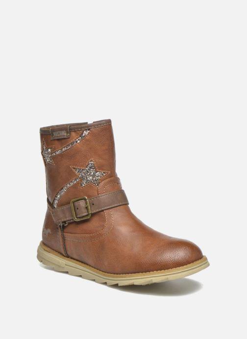 Bottes Mustang shoes Gisa Kids Marron vue détail/paire