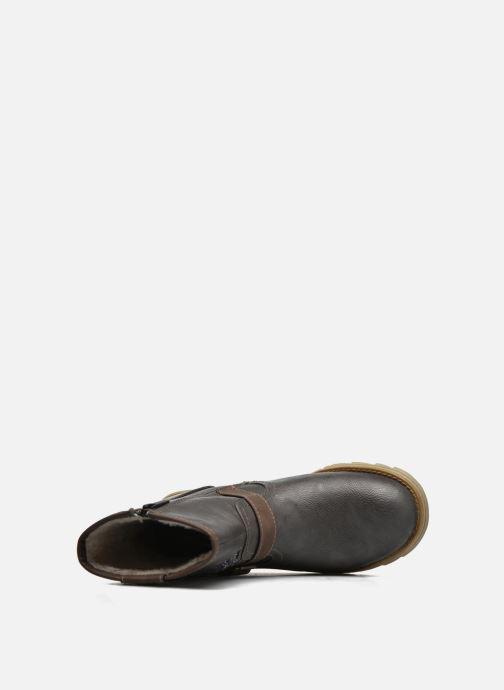 Stiefel Mustang shoes Gisa Kids grau ansicht von links