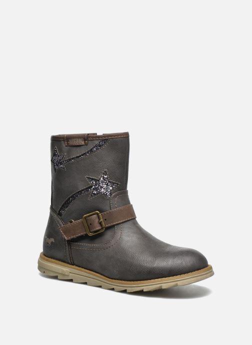 Bottes Mustang shoes Gisa Kids Gris vue détail/paire