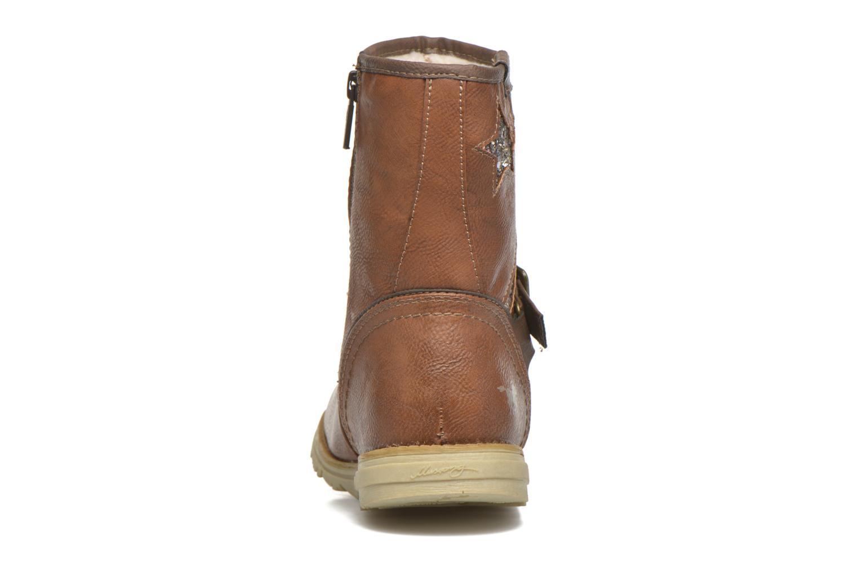 Stivali Mustang shoes Gisa Kids Marrone immagine destra