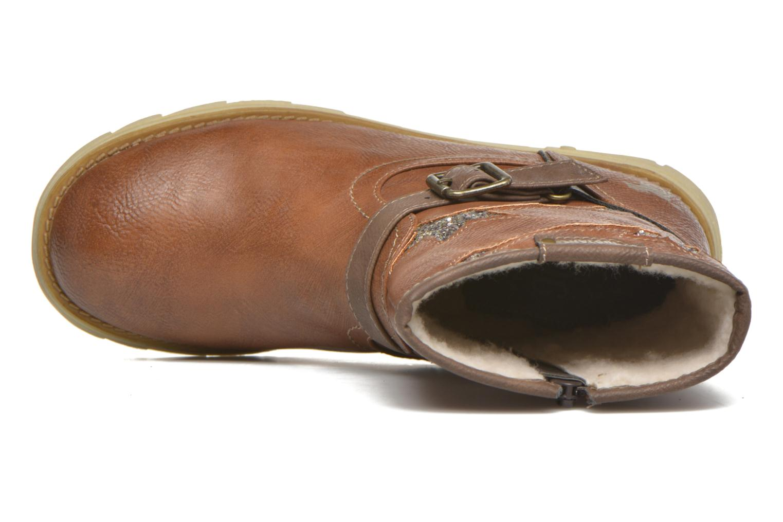 Stiefel Mustang shoes Gisa Kids braun ansicht von links