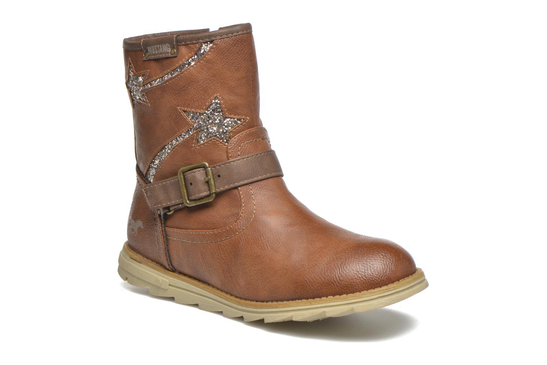 Stivali Mustang shoes Gisa Kids Marrone vedi dettaglio/paio