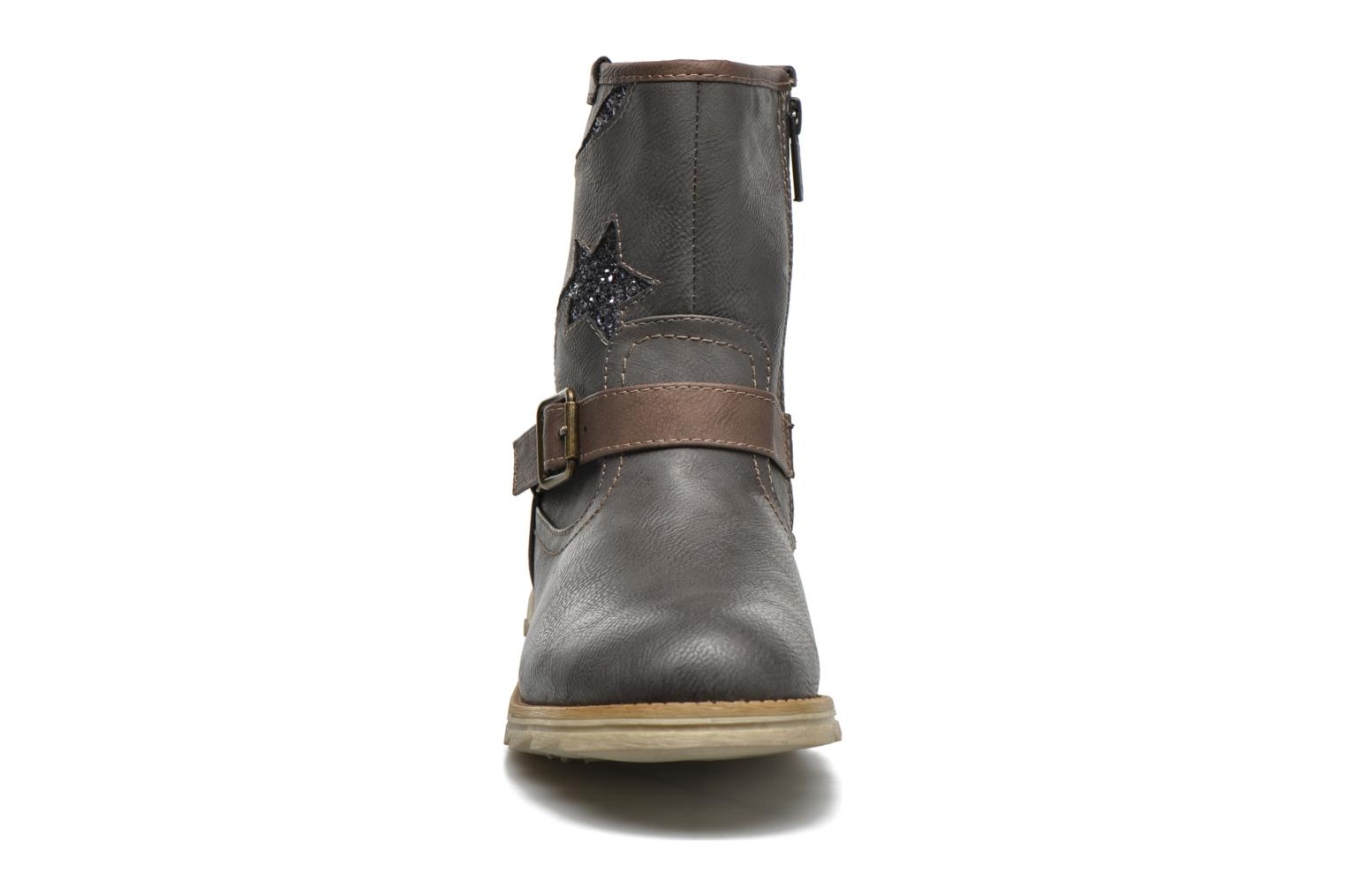 Boots & wellies Mustang shoes Gisa Kids Grey model view