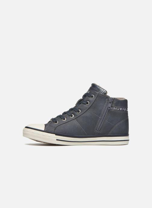 Sneaker Mustang shoes Leni blau ansicht von vorne