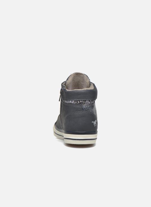 Baskets Mustang shoes Leni Bleu vue droite