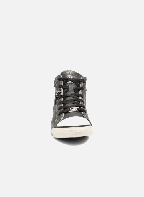 Sneaker Mustang shoes Leni grau schuhe getragen