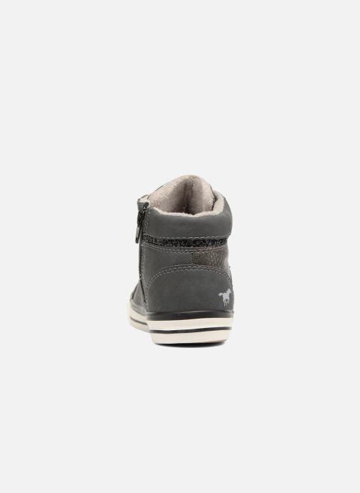 Sneaker Mustang shoes Leni grau ansicht von rechts