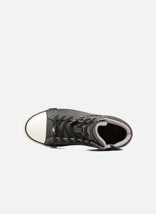 Sneaker Mustang shoes Leni grau ansicht von links