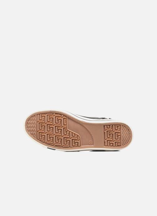 Baskets Mustang shoes Leni Gris vue haut