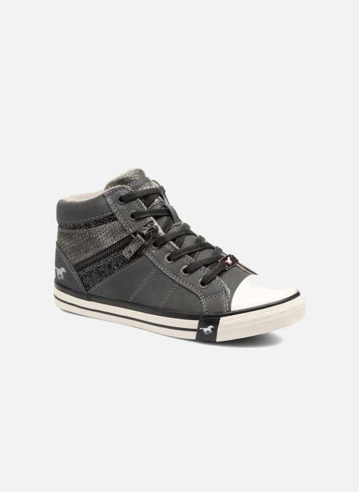 Baskets Mustang shoes Leni Gris vue détail/paire