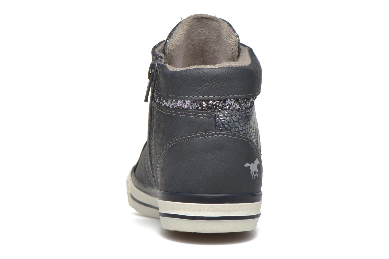 Sneakers Mustang shoes Leni Blauw rechts