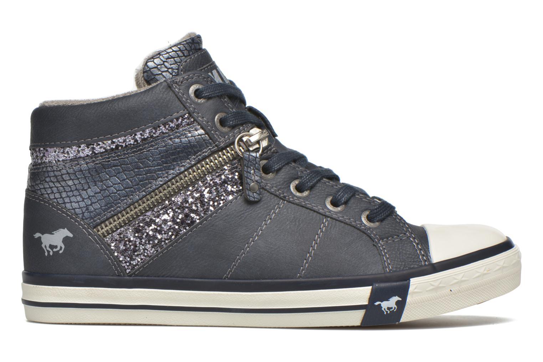 Sneakers Mustang shoes Leni Blauw achterkant