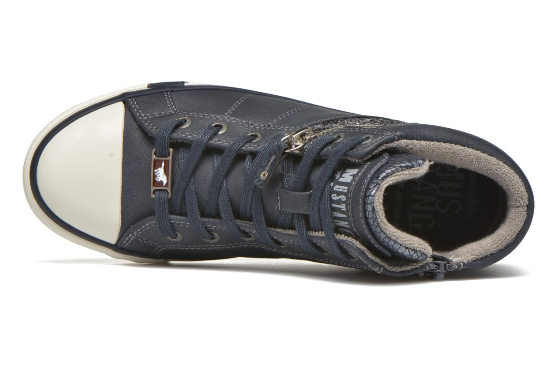 Sneakers Mustang shoes Leni Blauw links