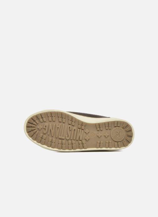 Baskets Mustang shoes Mitzi Noir vue haut