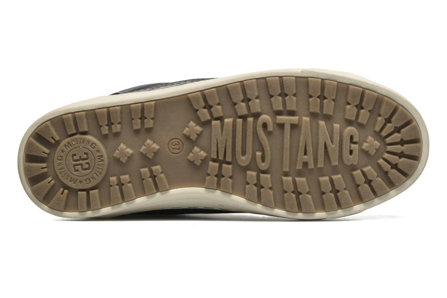 Trainers Mustang shoes Mitzi Blue view from above