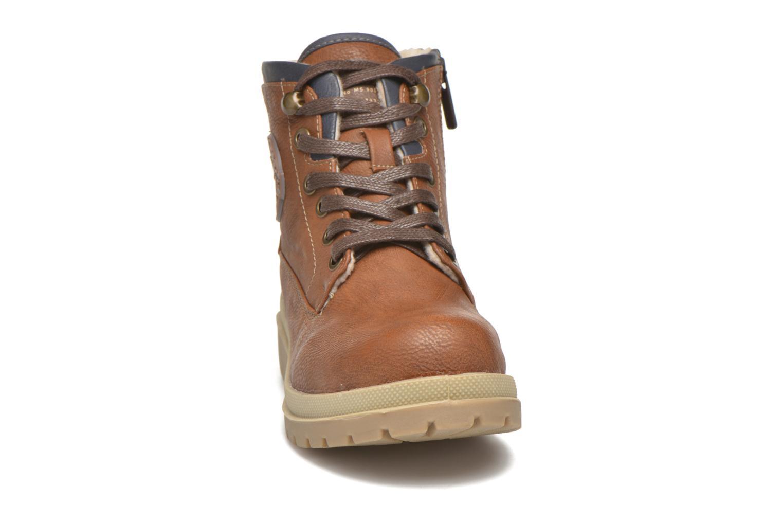 Boots en enkellaarsjes Mustang shoes Hanne Bruin model