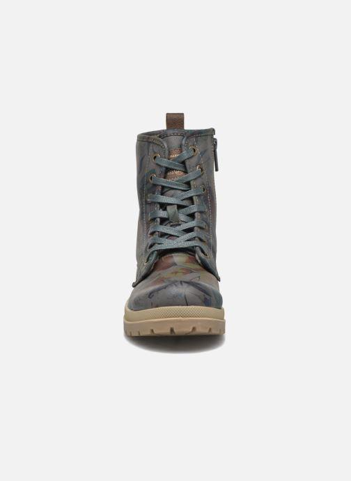 Ankle boots Mustang shoes Doris Blue model view