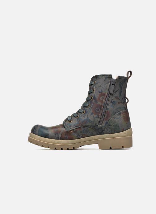 Boots en enkellaarsjes Mustang shoes Doris Blauw voorkant