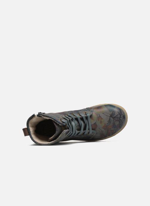 Boots en enkellaarsjes Mustang shoes Doris Blauw links