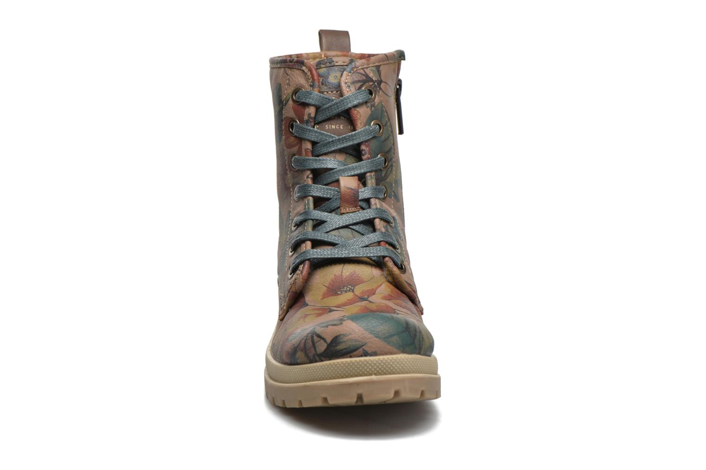 Ankle boots Mustang shoes Doris Beige model view