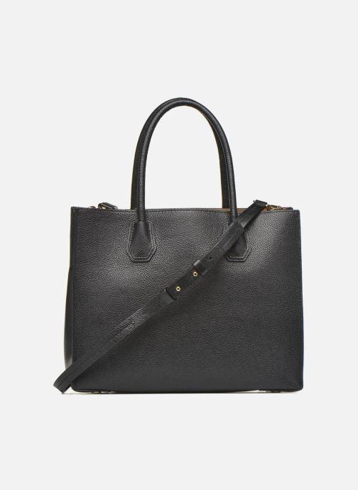 Bolsos de mano Michael Michael Kors MERCER LG Convertible Satchel Negro vista de frente