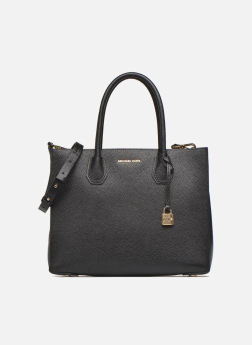 43224f771a093 Handtaschen Michael Michael Kors MERCER LG Convertible Satchel schwarz  detaillierte ansicht modell