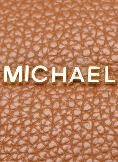 Sacs à main Michael Michael Kors MERCER LG Convertible Satchel Marron vue gauche