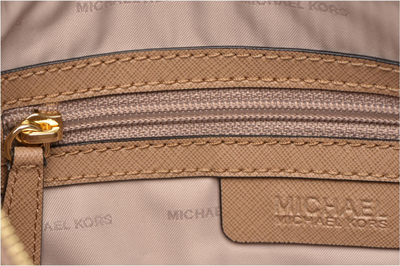 Handväskor Michael Michael Kors MERCER LG Convertible Satchel Svart bild från baksidan