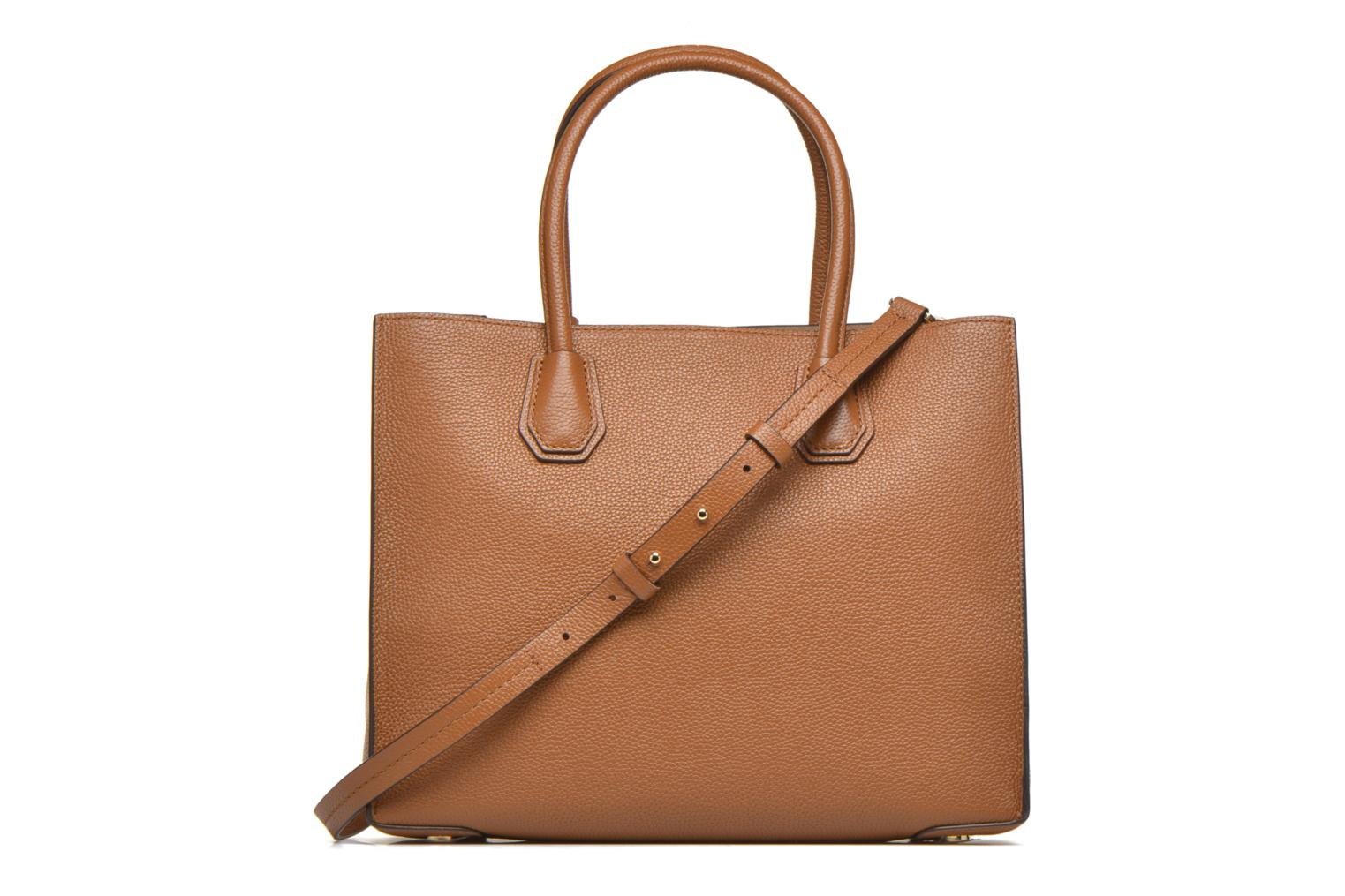 Sacs à main Michael Michael Kors MERCER LG Convertible Satchel Marron vue face