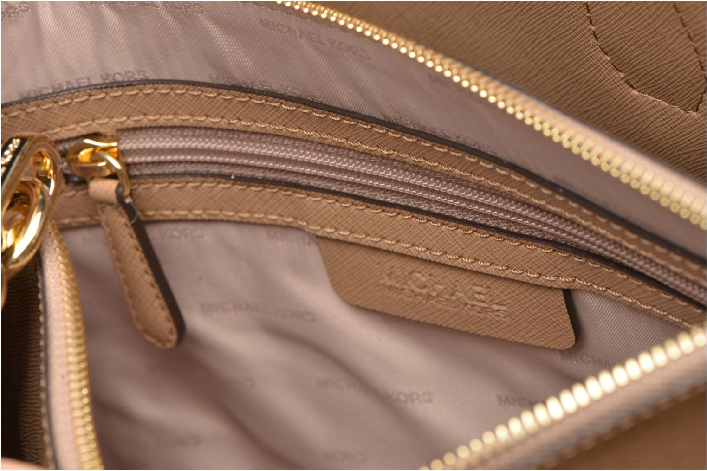 Borse Michael Michael Kors MERCER LG Convertible Satchel Marrone immagine posteriore