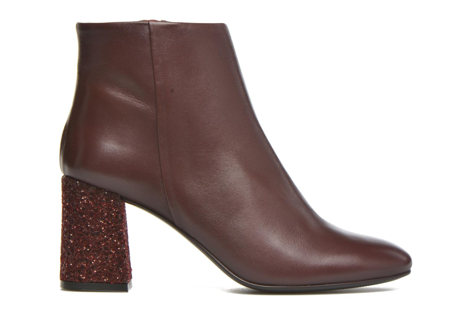 Ankle boots Georgia Rose Divala Burgundy back view