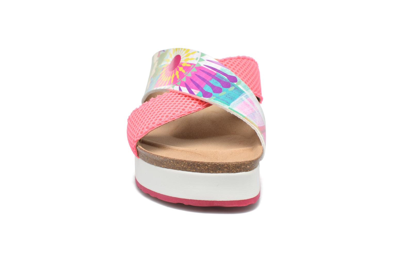 Mules & clogs Desigual SHOES_BIO 10 MEGARA 2 Pink model view