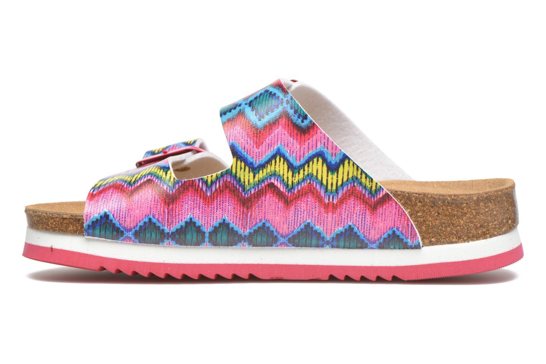 Sandales et nu-pieds Desigual SHOES_BIO 6 Rose vue face