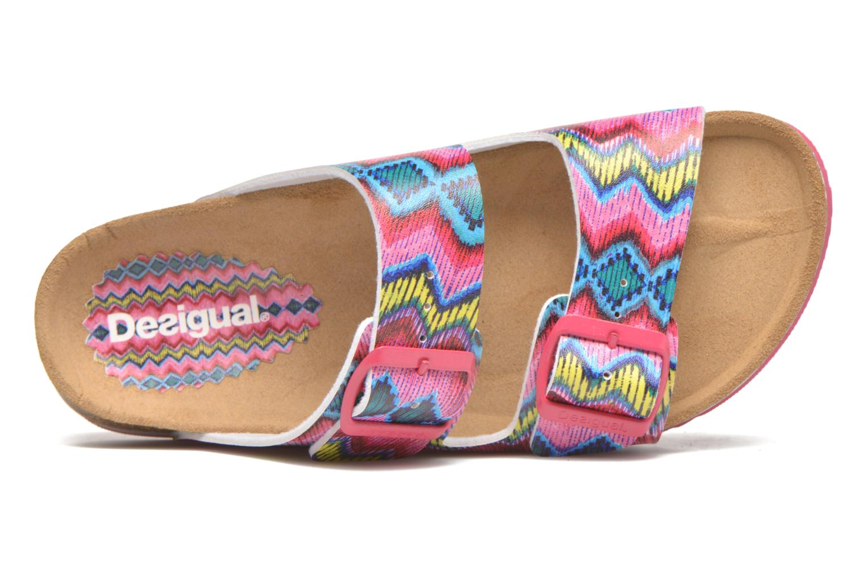 Sandales et nu-pieds Desigual SHOES_BIO 6 Rose vue gauche