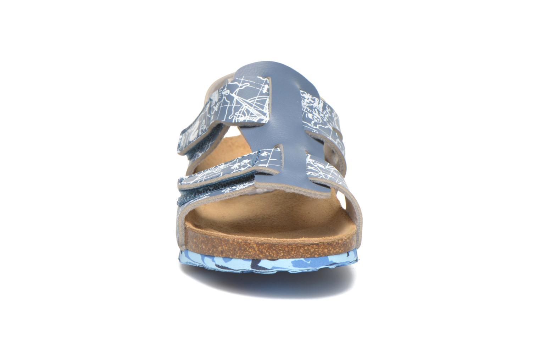 Sandales et nu-pieds Desigual SHOES_BIO 8 Gris vue portées chaussures