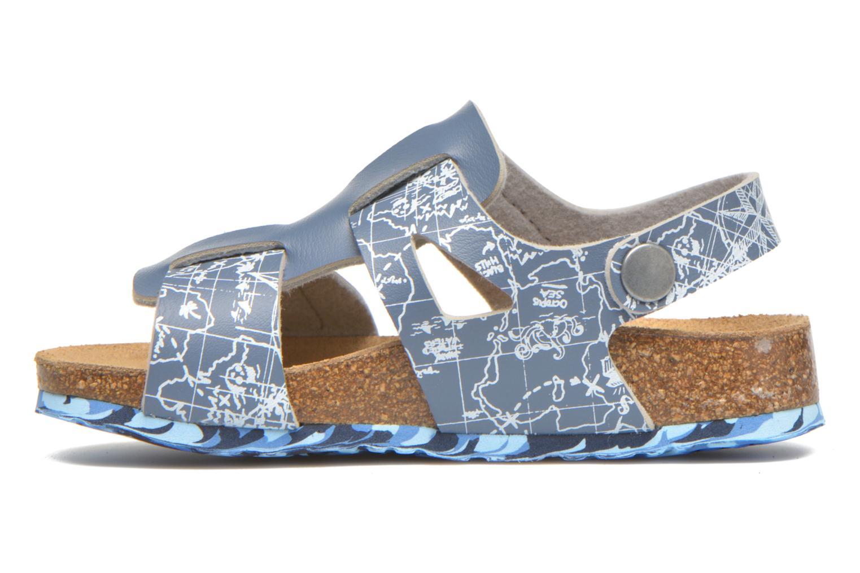 Sandales et nu-pieds Desigual SHOES_BIO 8 Gris vue face