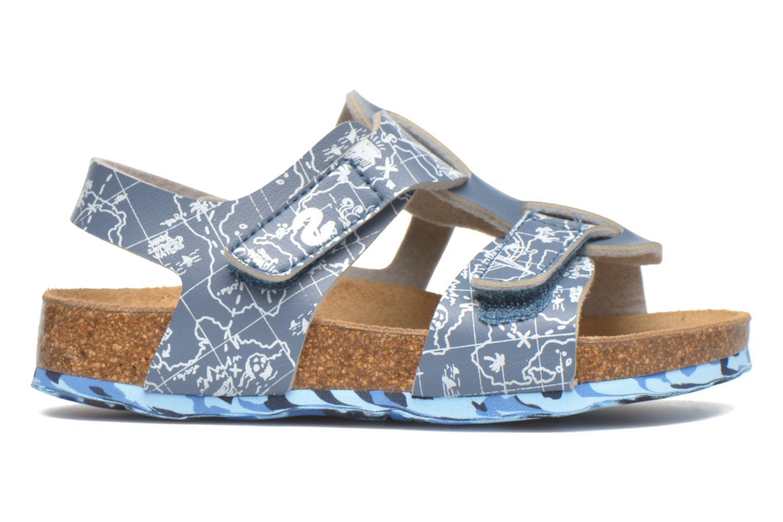 Sandales et nu-pieds Desigual SHOES_BIO 8 Gris vue derrière