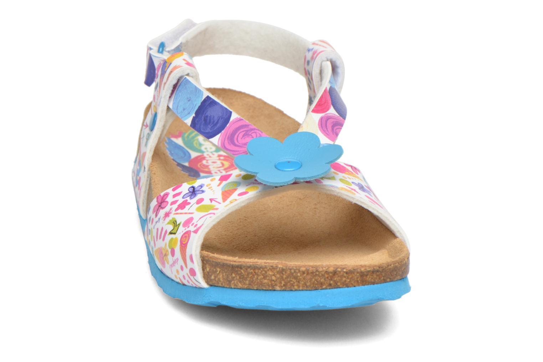 Tongs Desigual SHOES_BIO 3 E Bleu vue portées chaussures