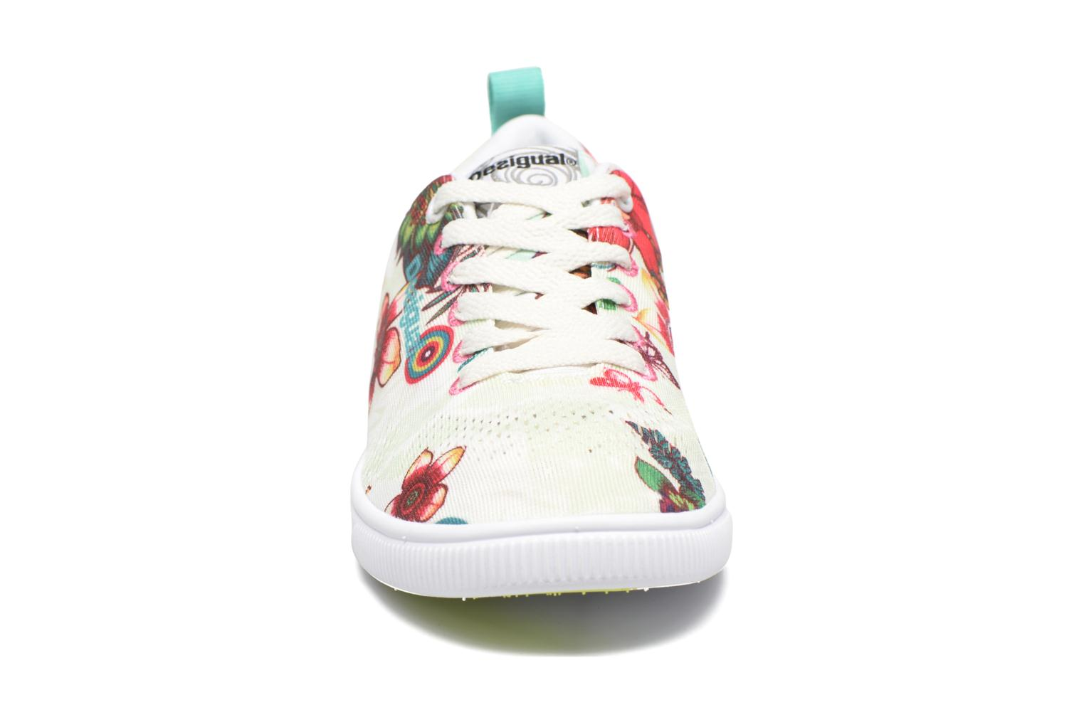 Sneakers Desigual SHOES_FUN EVA T Verde modello indossato