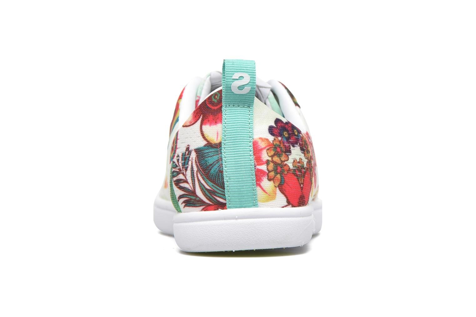 Deportivas Desigual SHOES_FUN EVA T Verde vista lateral derecha